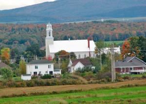 Paysage et église de Scott